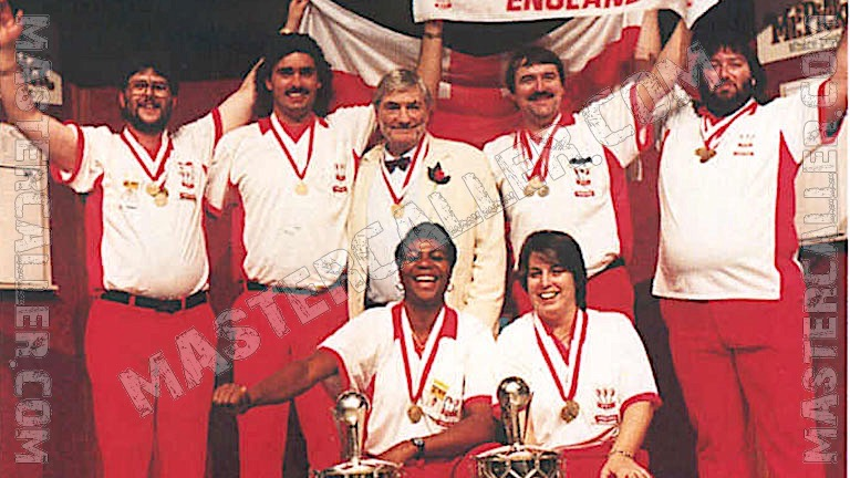 Beker van WDF World Cup Ladies Overall - 1995