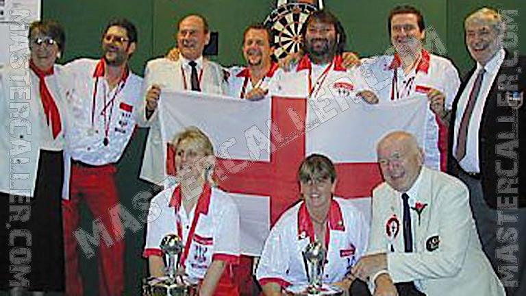 Beker van WDF World Cup Men Overall - 1999