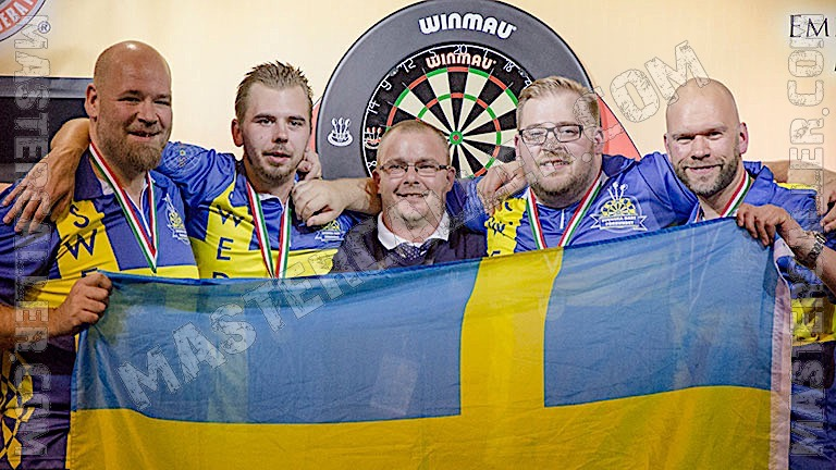 Trophy of WDF Europe Cup Men Teams - 2018