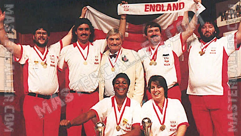 Trophy of WDF World Cup Men Overall - 1995