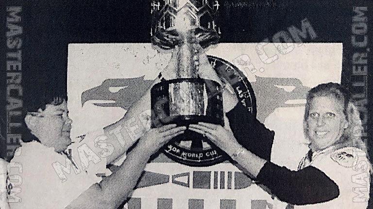Beker van WDF World Cup Ladies Overall - 1993