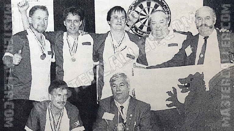 Beker van WDF World Cup Men Overall - 1993