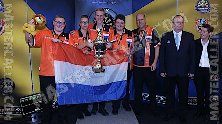 Beker van WDF Europe Cup Youth Boys Overall - 2017