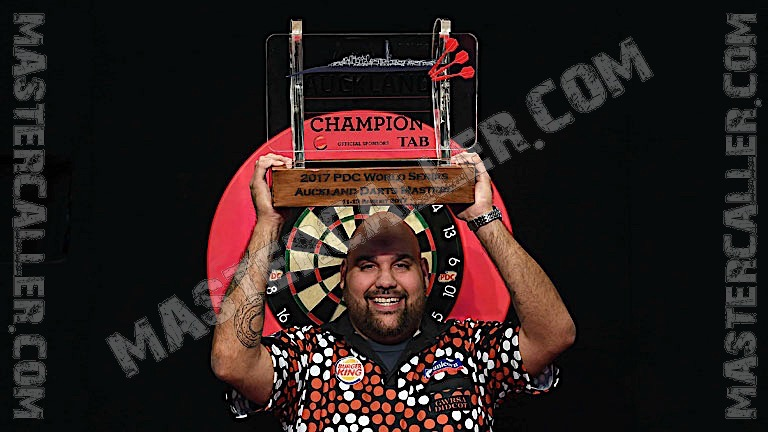 Reigning champion of Auckland Darts Masters 2017