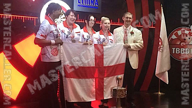 Trophy of WDF World Cup Ladies Overall - 2015