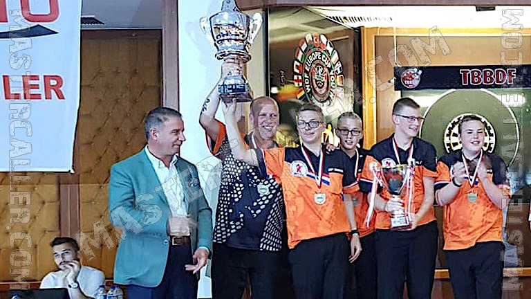 Beker van WDF Europe Cup Youth Boys Overall - 2018