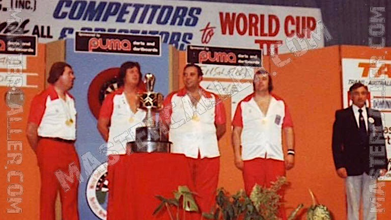 Trophy of WDF World Cup Men Overall - 1979