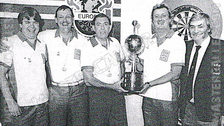 Trophy of WDF Europe Cup Men Overall - 1988